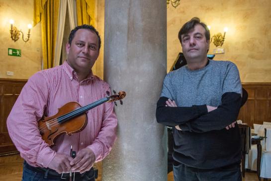 Chema Corvo y Sergio Fuentes