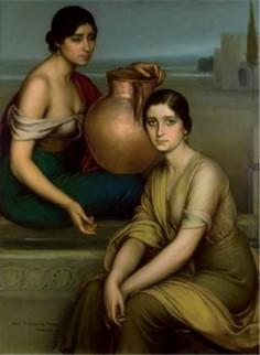 Marta y Maria  Julio Romero de Torres