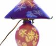 Lámpara de Emile Gallé.